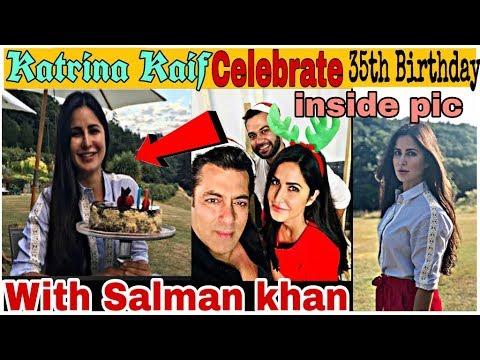 Katrina Kaif Celebrate 35th Birthday With Salman khan in Europe | कैटरीना के बर्थडे मे शामिल सलमान