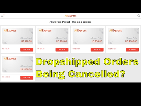 Why Your Ali Express Drop Ship Orders Are Being Cancelled Closed How To Stop It From Hap