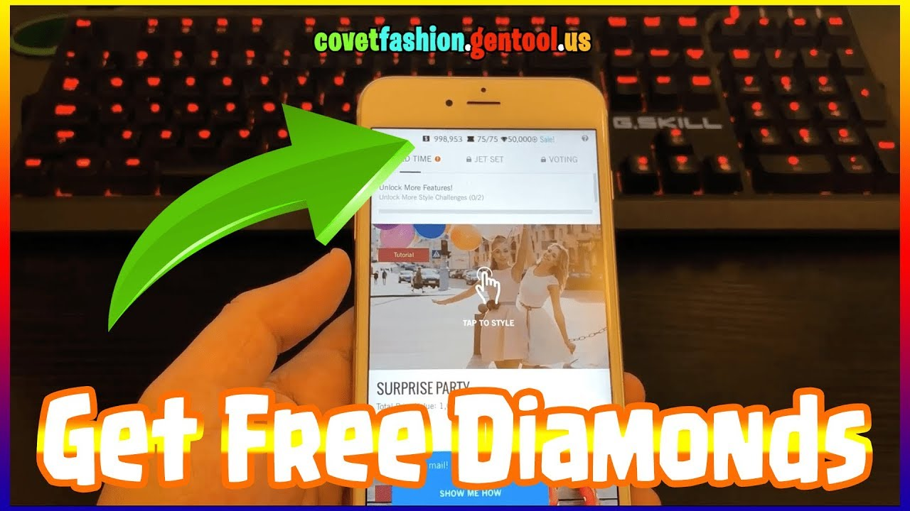 COVET FASHION Hack Diamonds on iOS/Android FREE! Latest Update with Proof
