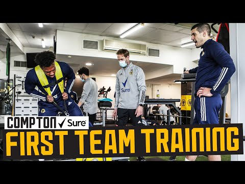 Hitting the gym HARD! | Behind the scenes of Wolves training