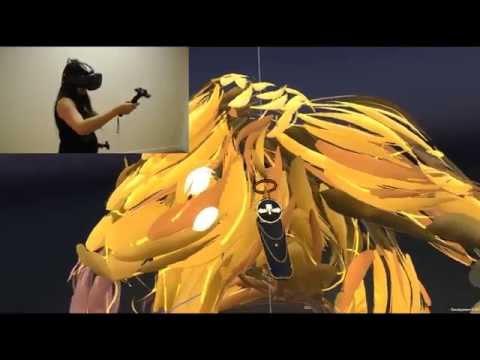 Artist Alix Briskham talks Tilt Brush on the HTC Vive