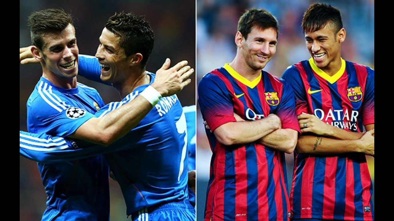 C Ronaldo y Bale VS Messi y Neymar 2016 - YouTube | 1440 x 900 jpeg 240kB