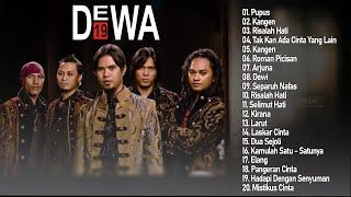 Lagu Terbaik dari DEWA 19 - Hits Tahun 2000an | Pupus, Kangen, Risalah Hati, Kangen (Vol. 1)