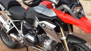 BMW R1200GS LC model 2013 Review