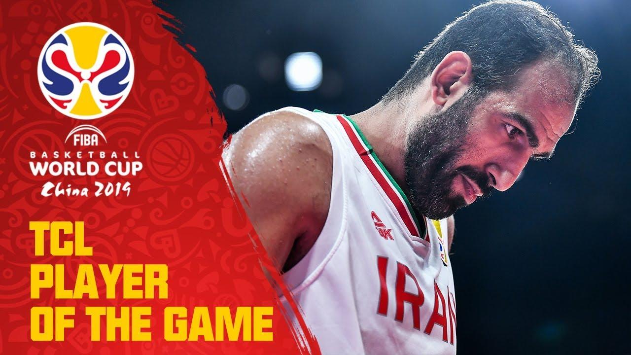 Hamed Haddadi | Iran v Philippines | TCL Player of the Game - FIBA Basketball World Cup 2019