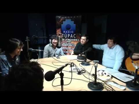 HIJOS DE SANTIAGO X RADIO TÚPAC 31-8-17