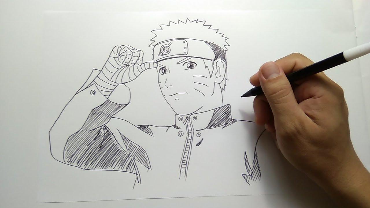 Cara Menggambar Naruto Dewasa YouTube