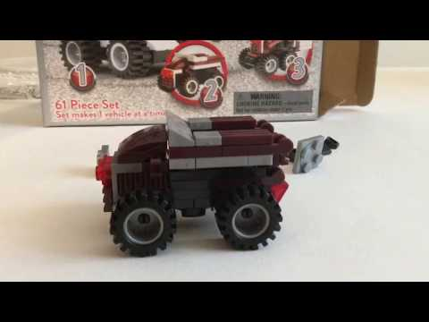 Non-Lego Hershey's Truck Set 3 in 1 Review