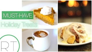 Holiday Treats (Vegan Pumpkin Pie, Cinnamon Buns, Slow Cooker Hot Cocoa)