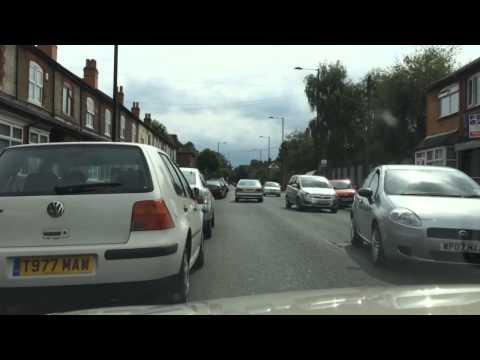 Instagram Hyperlapse Video Test - Driving Through Birmingham Hall Green
