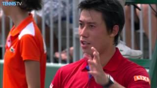 2016 Miami Open: Monday Highlights ft. Murray, Nishikori & Raonic