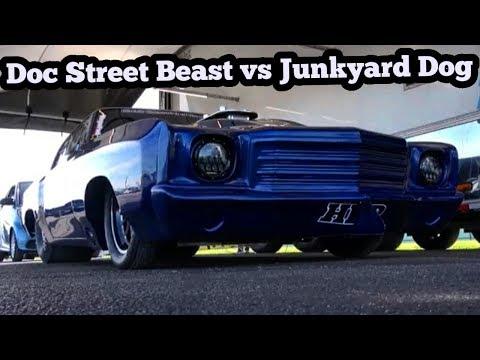 Doc Street Beast Vs Junkyard Dog Grudge Race!!