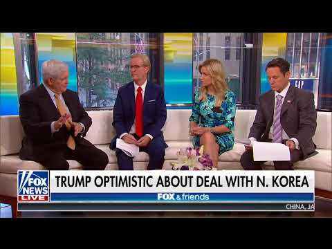 NEWT GINGRICH FULL ONE-ON-ONE INTERVIEW ON FOX & FRIENDS | FOX NEWS (5/24/2018)