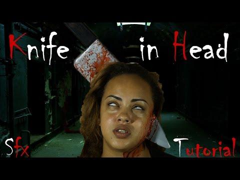 Halloween SFX - Knife through Head Tutorial