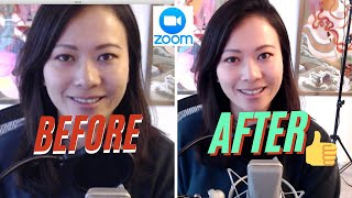 How to look better on zoom with one click #zoom #touchup screenshot 4
