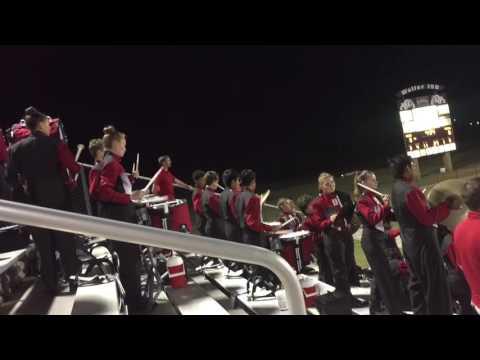 Tomball High School Band 2016 - Drum Cadence - Latin