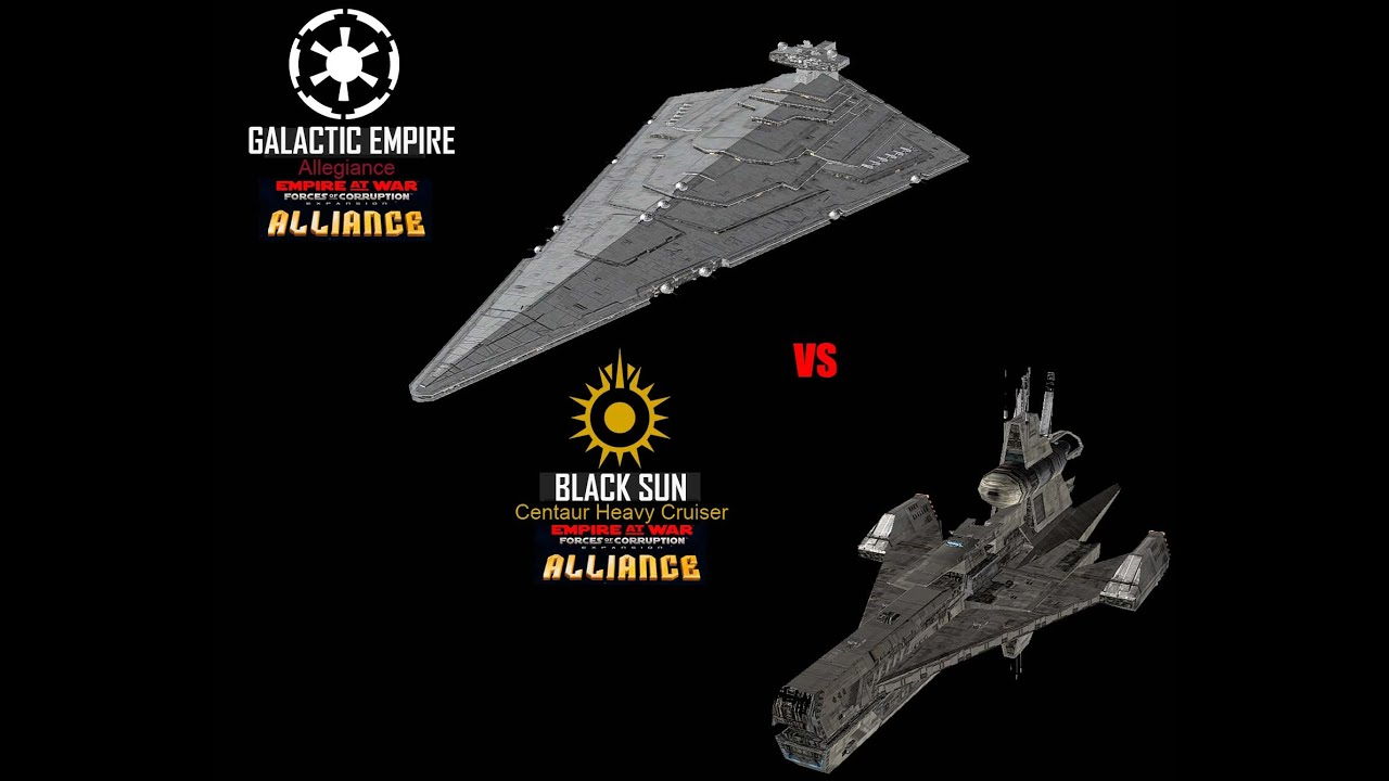 Star Wars | Empire at War | FOC Alliance | Allegiance vs Centaur