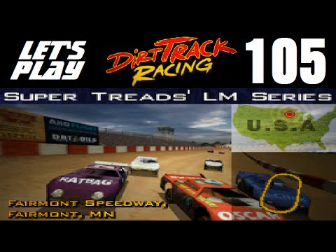Let's Play Dirt Track Racing - Part 105 - Y9R13 - Fairmont Speedway