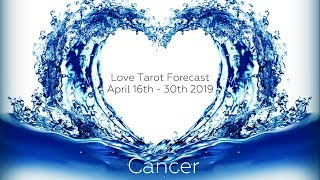 Cancer - Feeling you in their heart and soul! - Lovescope April 16th - 30th