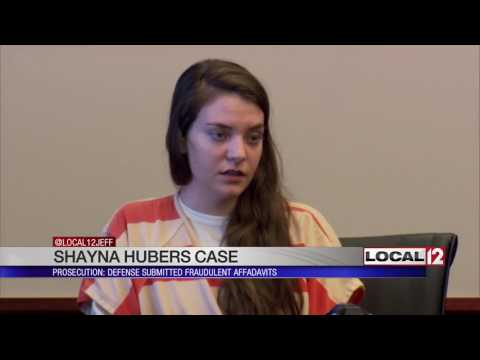 Commonwealth attorney: Some documents filed by Shayna Hubers' defense were forged