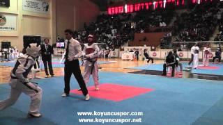 63kg M. Emre Yigittekin - Suleyman Subasi (Turkish Junior Taekwondo Championships 2012)