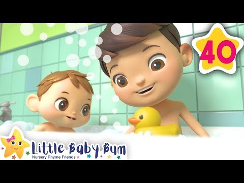 How To Take A Bath Song | Fun Learning with LittleBabyBum | NurseryRhymes for Kids