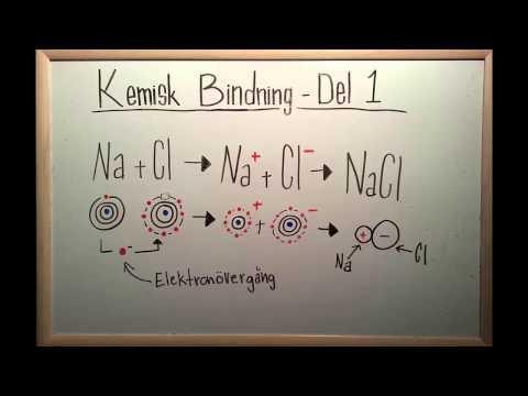 Kemi 1 - Kemisk Bindning- Intramolekylära Bindningar