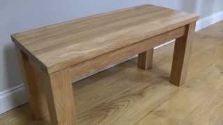 Baltic Solid Oak Indoor Dining Bench From Www.topfurniture.co.uk