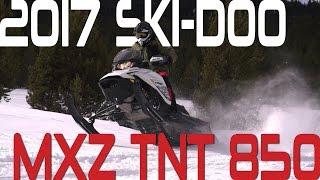 STV 2017 Ski-Doo MXZ TNT 850