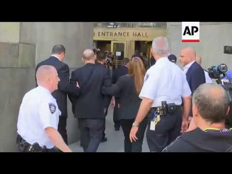 Download Weinstein arrives at New York court to face rape, criminal sex act charges