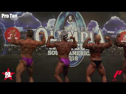 RECARGADO (Parte 1) Campeonato Mr. Olympia Amateur Sur America 2018 (Culturismo y Figura)
