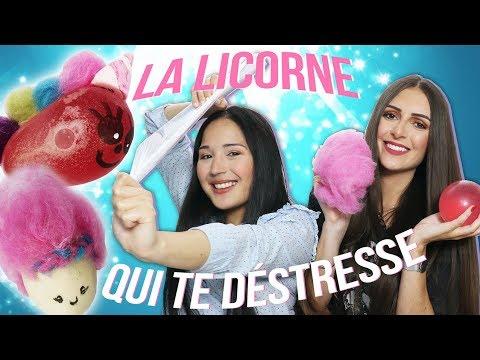 DIY - 2 BALLES ANTI-STRESS LICORNE ! avec Yoko Nail Art et Perfect Honesty