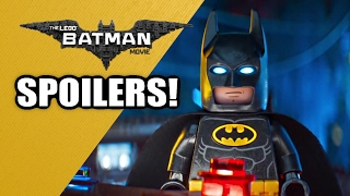 The LEGO Batman Movie - Spoiler Review and Discussion!