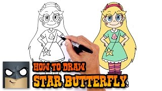 How to Draw Star Butterfly | Star vs the Forces of Evil