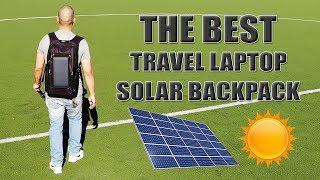 The BEST Travel Laptop Solar Backpack! (Haweel) [4K]