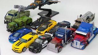 Transformers 3 4 5 Optimus Prime Megatron Bumblebee Drift Hound Barricade 12 Vehicle Robot Car Toys