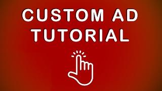 Benutzerdefinierte Banner-Tutorial: Erstellen einer Benutzerdefinierten Anzeige