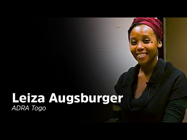 Interview de Leiza Augsburger d'Adra Togo - AM TV Interview