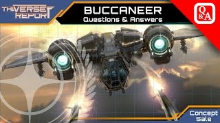 Star Citizen Drake Buccaneer Q&A  | Verse Report [Deutsch/German]