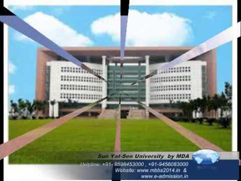 Sun Yat Sen University   MBBS 2014 @ +91 9598453000