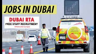 Dubai RTA is Hiring Now - Road and Transport Authority (RTA)