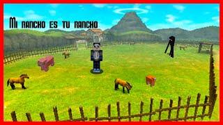 Bienvenidos a mi ranchito :)    /Serie minecraft survival #1