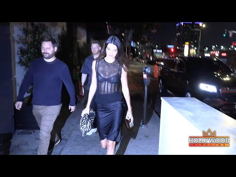 Kendall Jenner brings 818 Tequila to business meeting in Los Angeles