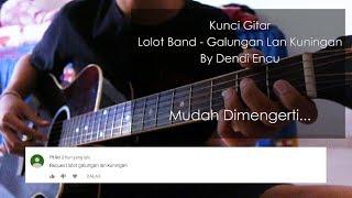 kunci gitar Lolot Band - Galungan Lan Kuningan