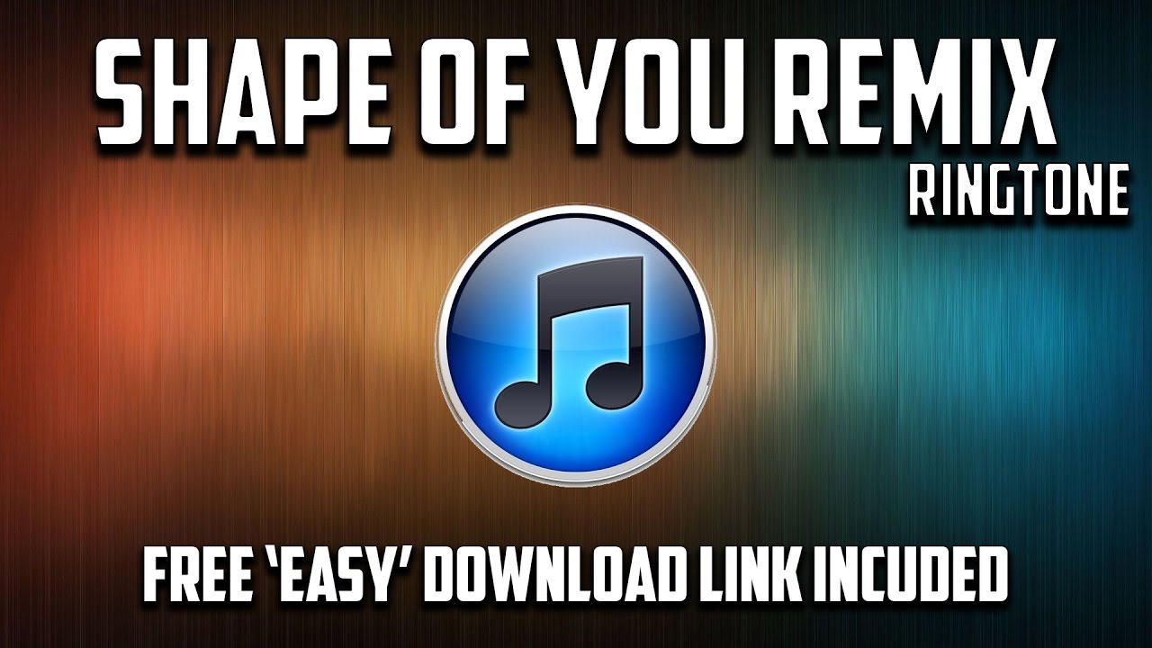 shape of you iphone remix download mp3