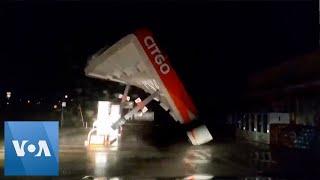 Hurricane Nicholas Makes Landfall in Texas