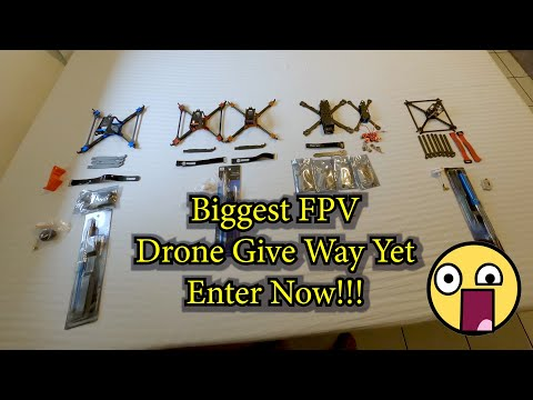 Фото Drone Give Away 2020 || Lots Of FPV Parts
