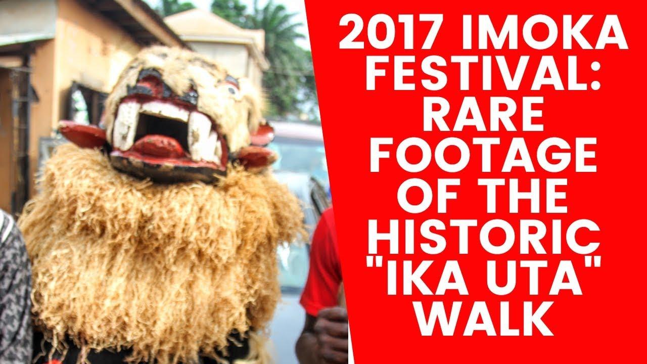 "Download 2017 Imoka Festival: Rare footage of the historic ""Ika Uta"" walk"