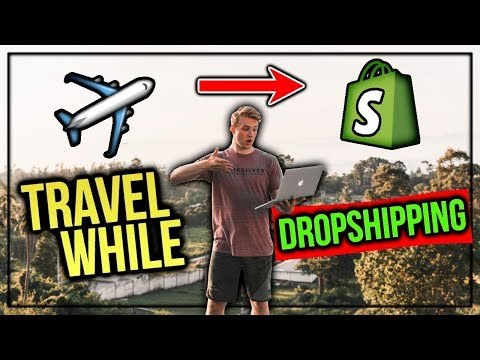 What Its Like To Travel While Dropshipping | Follow Me Around