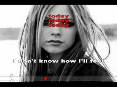 Karaoké Avril Lavigne - Tomorrow - YouTube Avril Lavigne Tomorrow